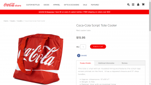 Coca Cola Item Detail