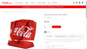 Coca Cola Item Detail