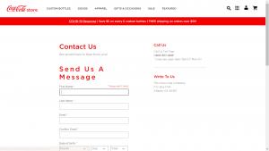 Coca Cola Contact
