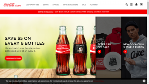 Coca Cola Homepage