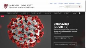 Harvard Homepage