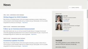 Harvard University News