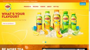 Lipton Homepage
