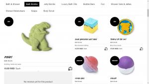Lush Product List