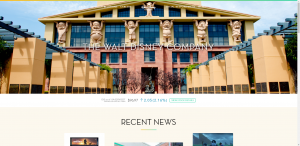 The Walt Disney Company Homepage