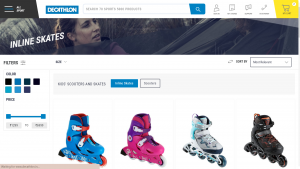 Decathlon Product List