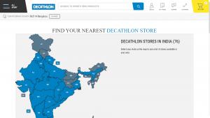 Decathlon Store Locator