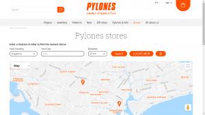 Pylones Stores Locator